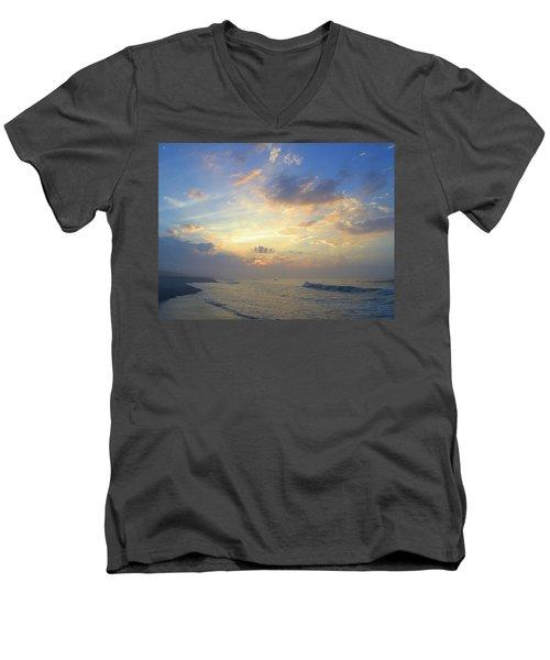 Spring Sunrise Men's V-Neck T-Shirt