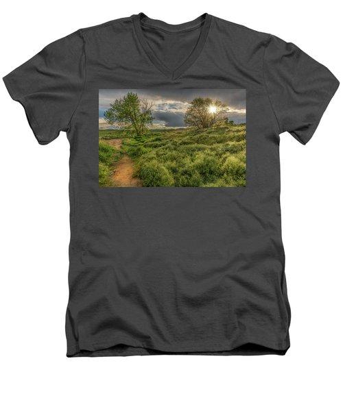 Spring Utopia Men's V-Neck T-Shirt