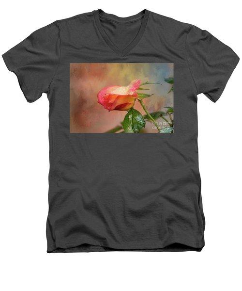 Springing Forth Men's V-Neck T-Shirt