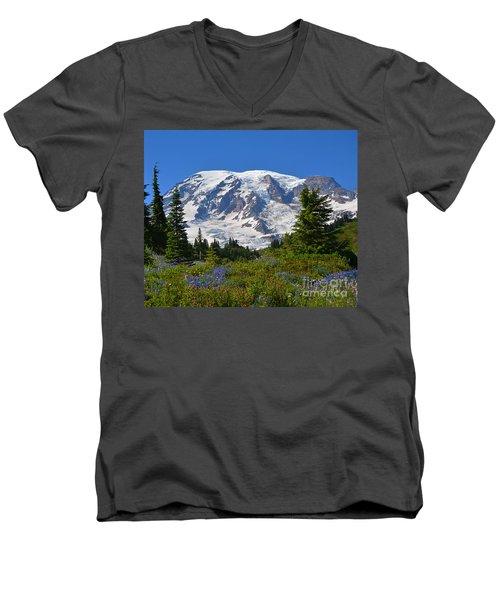 Springtime At Paradise 1 Men's V-Neck T-Shirt