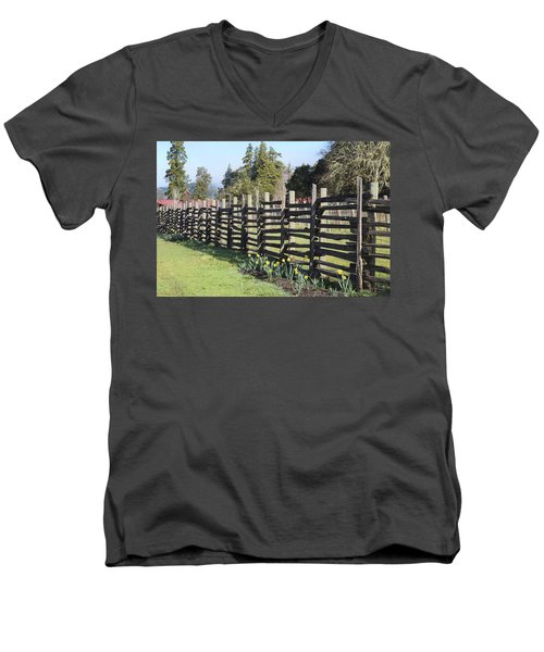 Springtime In Anderson Valley Men's V-Neck T-Shirt