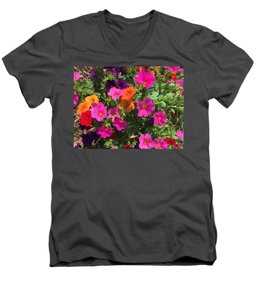 Springtime On The Farm Men's V-Neck T-Shirt