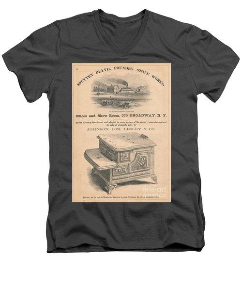 Spuyten Duyvil Stoveworks  Men's V-Neck T-Shirt