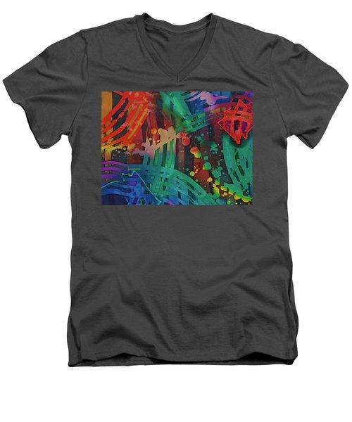 Squares And Other Shapes 2 Men's V-Neck T-Shirt