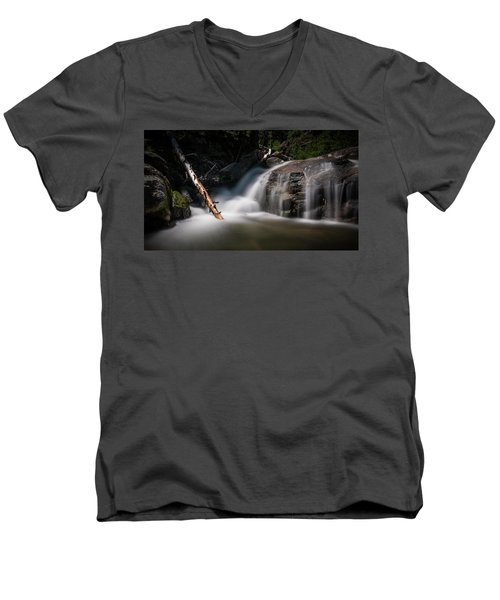 Men's V-Neck T-Shirt featuring the photograph Squaw Creek by Sean Foster
