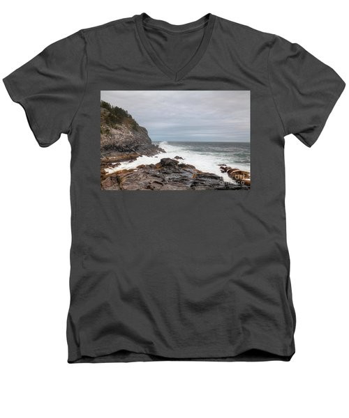 Squeaker Cove Men's V-Neck T-Shirt