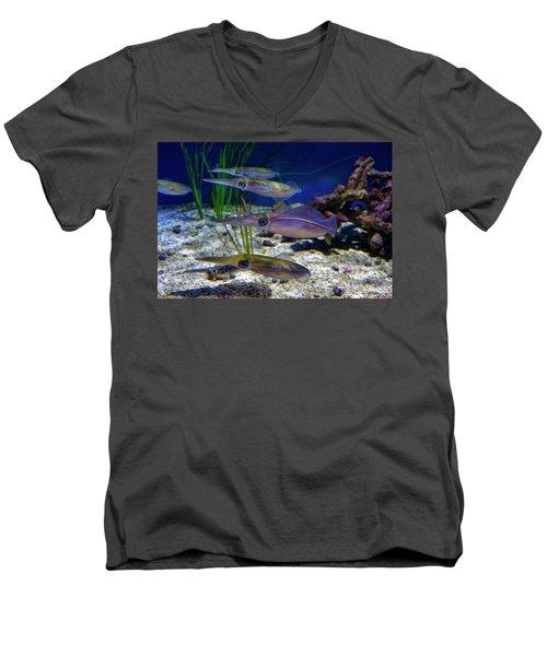 Squid Men's V-Neck T-Shirt