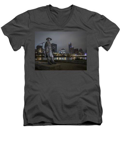 SRV Men's V-Neck T-Shirt