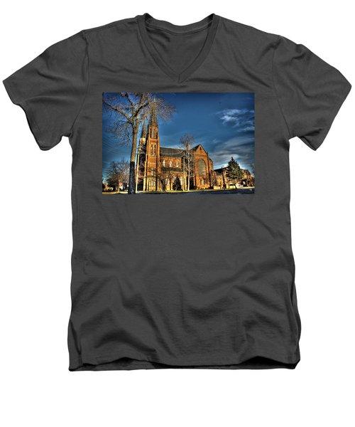 St. Annes Detroit Mi Men's V-Neck T-Shirt