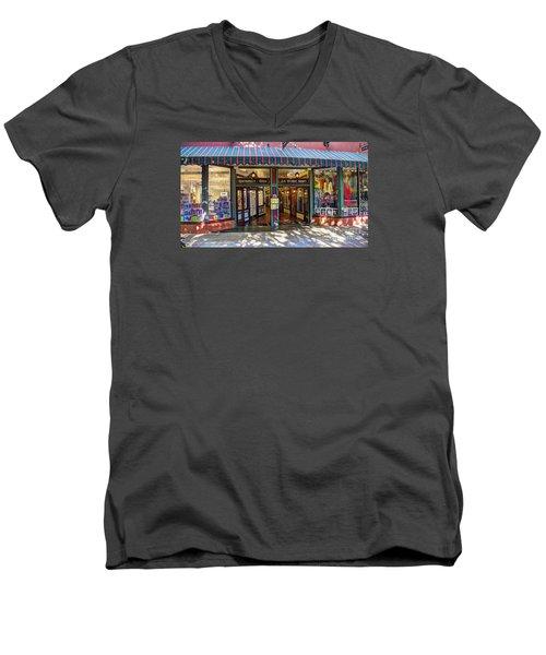 St Augustine Indoor Mall Men's V-Neck T-Shirt