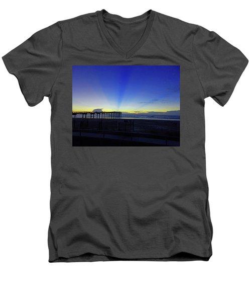 St Augustine Morning Men's V-Neck T-Shirt