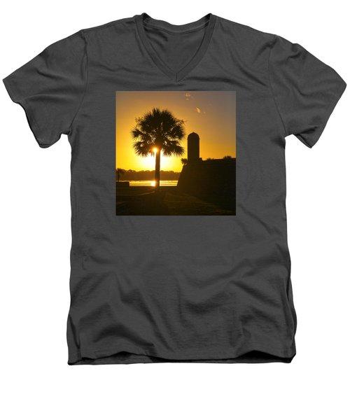 St. Augustine Summer Men's V-Neck T-Shirt