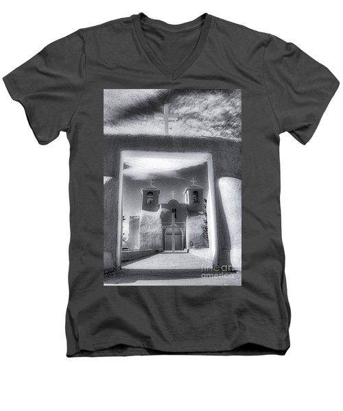 St. Francisco De Asis Men's V-Neck T-Shirt