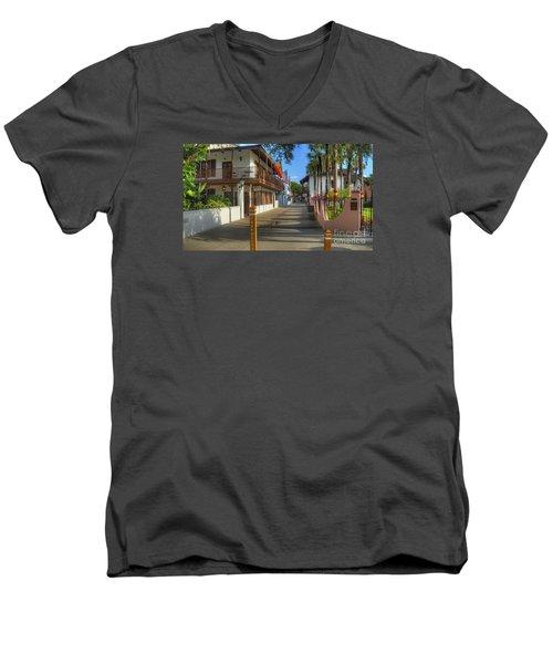St George Street North Men's V-Neck T-Shirt