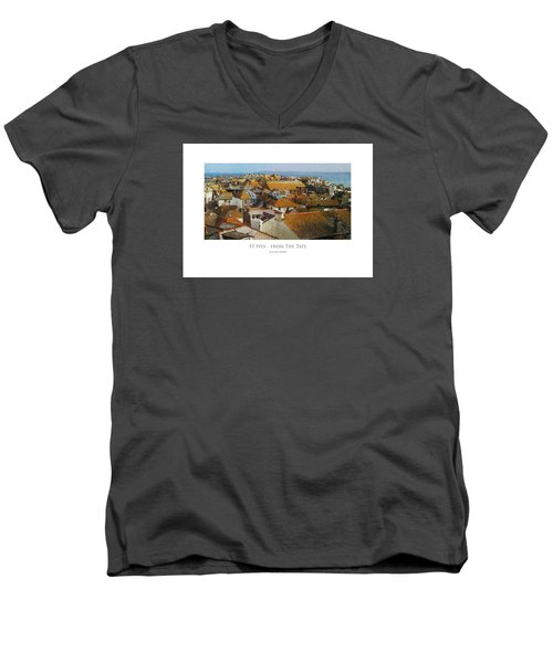 St Ives - From The Tate Men's V-Neck T-Shirt