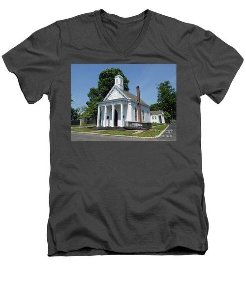 St Johns Ev Lutheran Church  Men's V-Neck T-Shirt