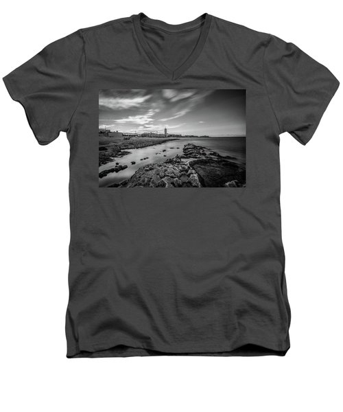 St. Julian's Bay View Men's V-Neck T-Shirt