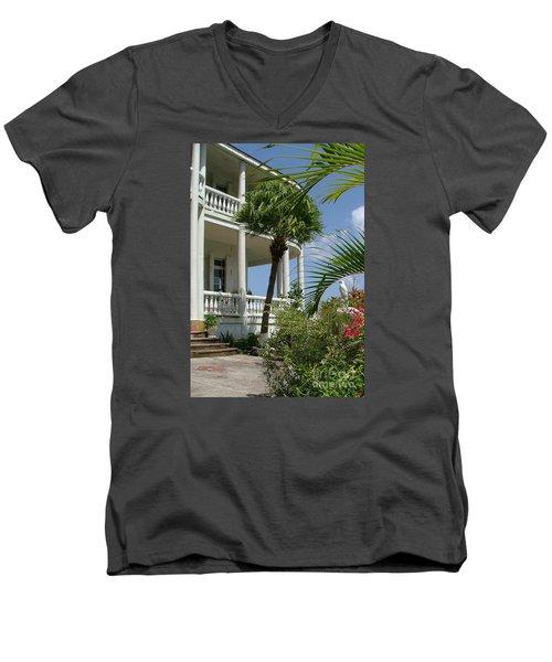 St Lucia Overlook Men's V-Neck T-Shirt