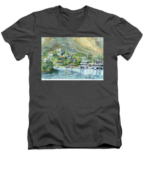 St. Maarten Cove Men's V-Neck T-Shirt