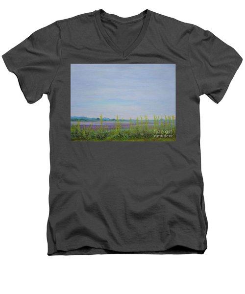 St. Marks Refuge I - Spring Men's V-Neck T-Shirt