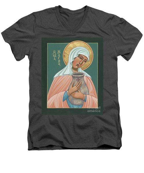 St Martha Of Bethany  Men's V-Neck T-Shirt
