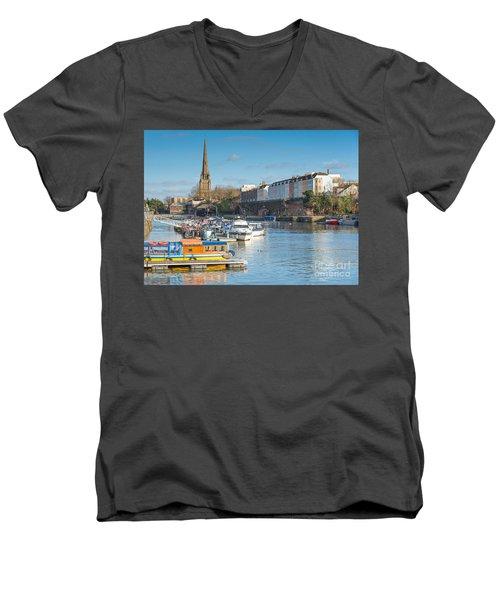 St Mary Redcliffe Church, Bristol Men's V-Neck T-Shirt