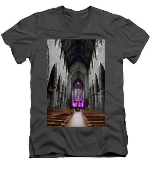 St. Mary's Cathedral, Killarney Ireland 1 Men's V-Neck T-Shirt