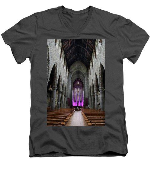 St. Mary's Cathedral, Killarney Ireland 1 Men's V-Neck T-Shirt