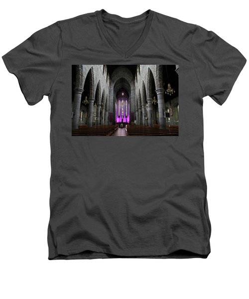 St. Mary's Cathedral, Killarney, Ireland 2 Men's V-Neck T-Shirt