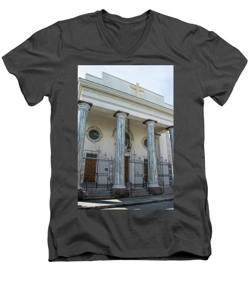 St. Mary's Men's V-Neck T-Shirt