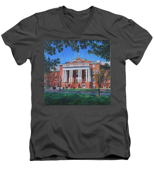 St Marys School Men's V-Neck T-Shirt