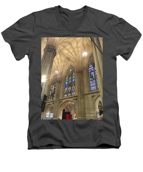 St. Patricks Cathedral Interior Men's V-Neck T-Shirt