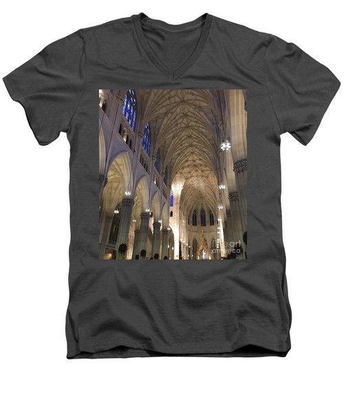 St. Patricks Cathedral Main Interior Men's V-Neck T-Shirt