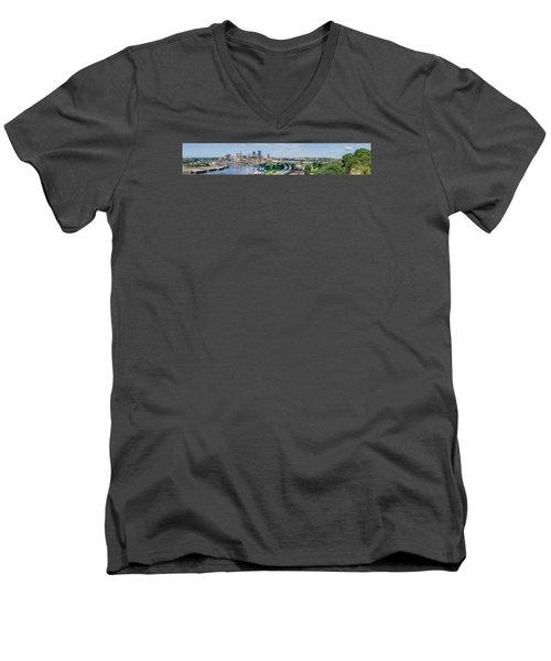 St. Paul Men's V-Neck T-Shirt