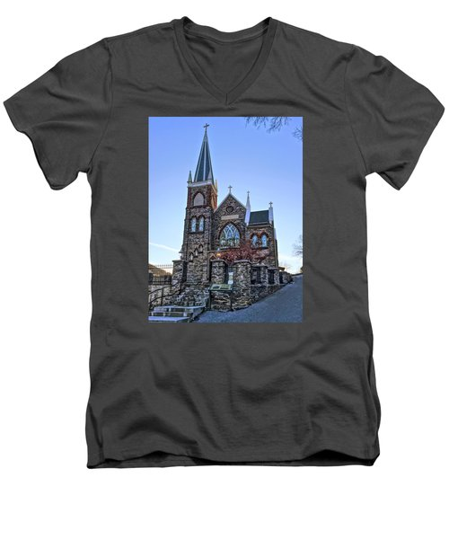 St. Peter's Harpers Ferry Men's V-Neck T-Shirt