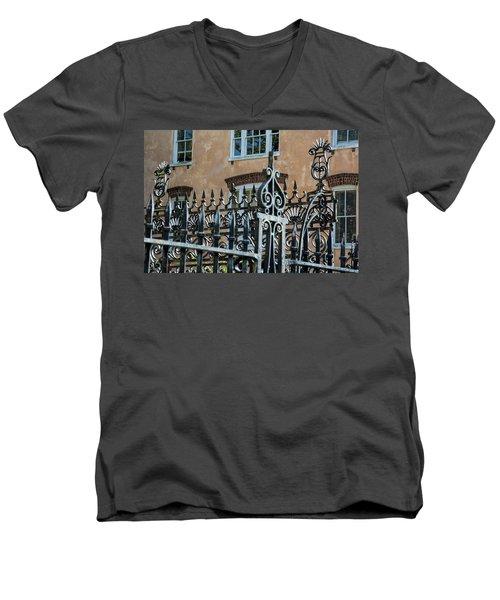 St. Philip's Gate Men's V-Neck T-Shirt