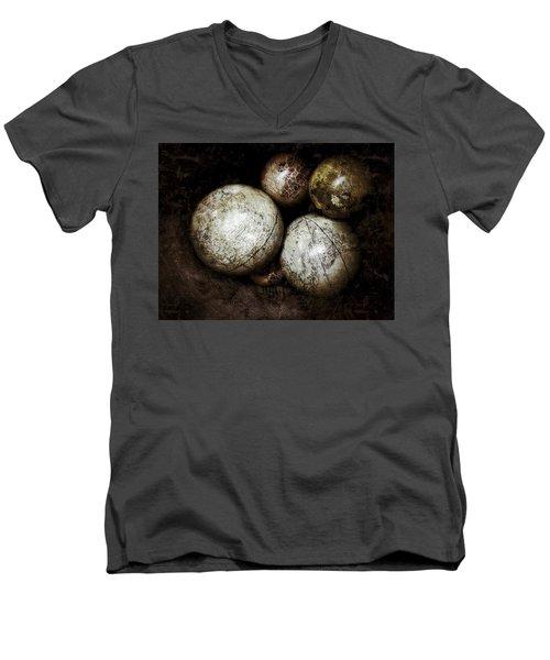 Stacking Worlds Men's V-Neck T-Shirt