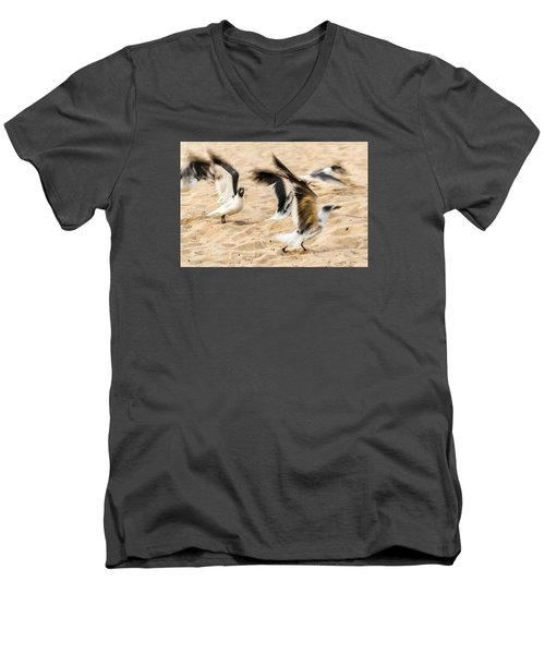 Stages Of Flight Men's V-Neck T-Shirt