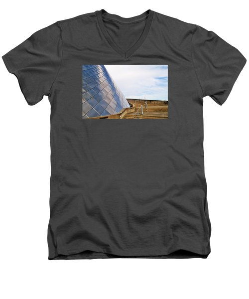 Staircase  Men's V-Neck T-Shirt by Martin Cline