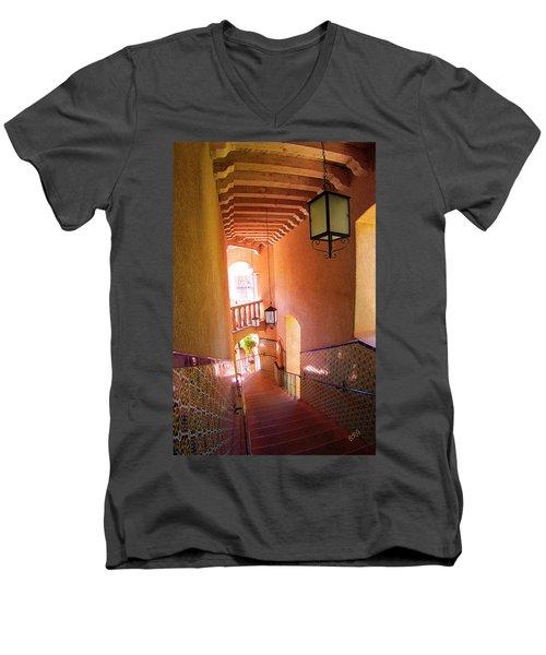 Stairway Men's V-Neck T-Shirt