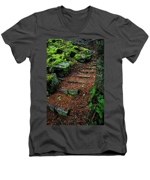 Stairway To..... Men's V-Neck T-Shirt