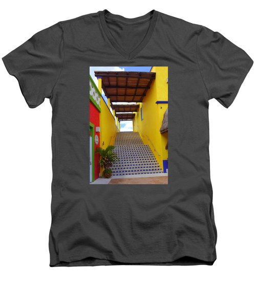 Stairway To Heaven Men's V-Neck T-Shirt
