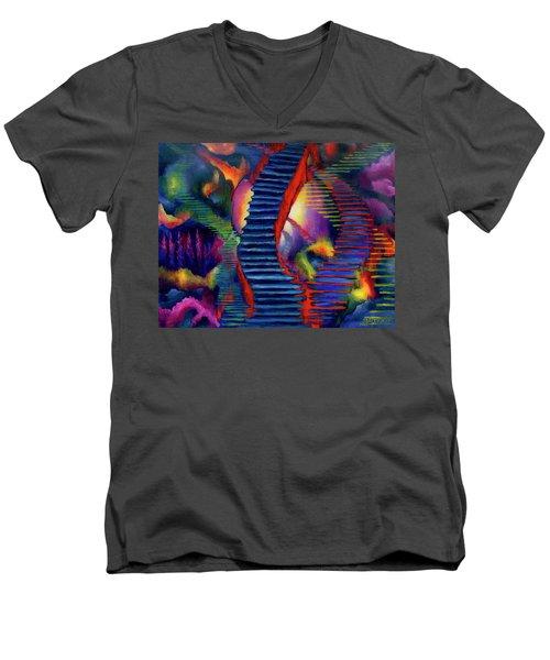 Stairways Men's V-Neck T-Shirt