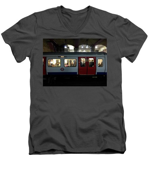 Stalled Underground Men's V-Neck T-Shirt