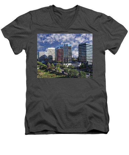 Stamford City Center Men's V-Neck T-Shirt