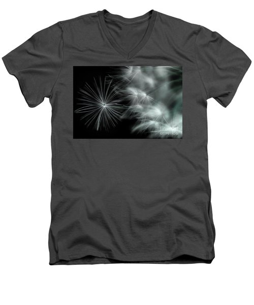 Stand Out And Be Noticed Men's V-Neck T-Shirt by Michael Eingle