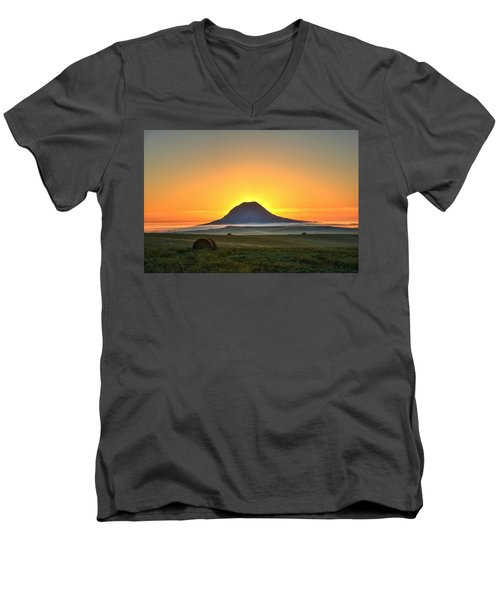 Standing In The Shadow Men's V-Neck T-Shirt