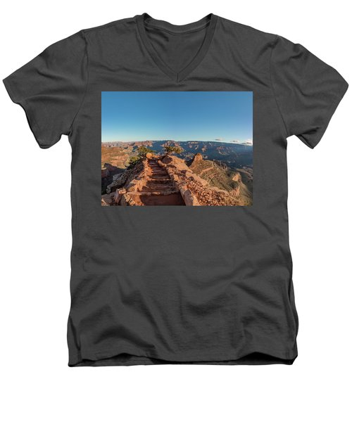 Standing On Top Men's V-Neck T-Shirt
