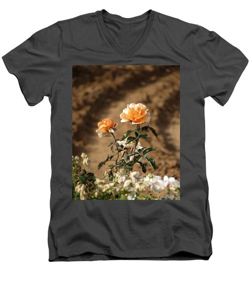 Men's V-Neck T-Shirt featuring the photograph Standing Out by Laurel Powell