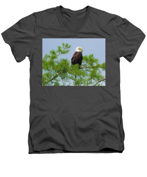 Standing Proud Men's V-Neck T-Shirt
